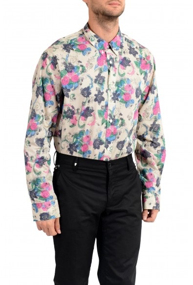"Burberry Men's ""STRENTON"" Floral Print Long Sleeve Shirt : Picture 2"