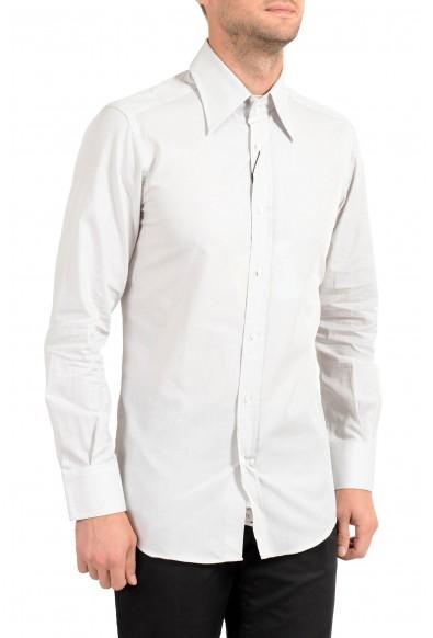 Dolce&Gabbana Men's Gray Long Sleeve Dress Shirt