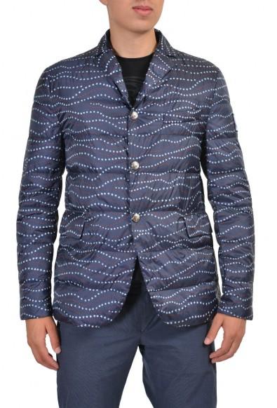 Moncler Gamme Bleu Men's Multi-Color Down Insulated Sport Coat Jacket