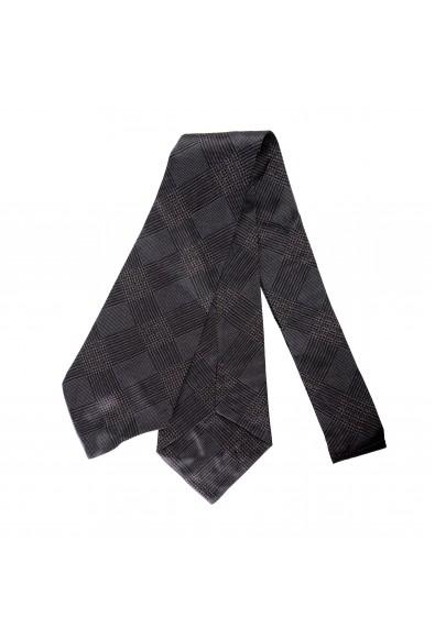 Gianfranco Ferre Men's Multi-Color Geometric Print 100% Silk Wide Neck Tie
