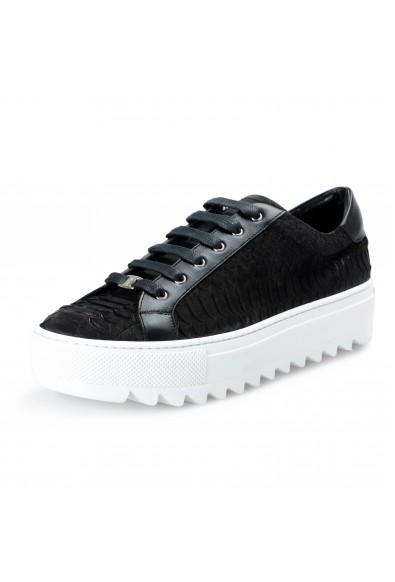 "Salvatore Ferragamo ""Eunica 1cm"" Women's Python Skin Fashion Sneakers Shoes"