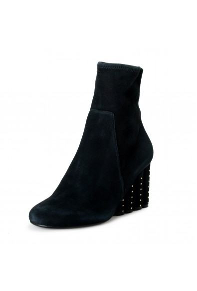 "Salvatore Ferragamo Women's ""GALLIO"" Suede Leather High Heel Boots Shoes"