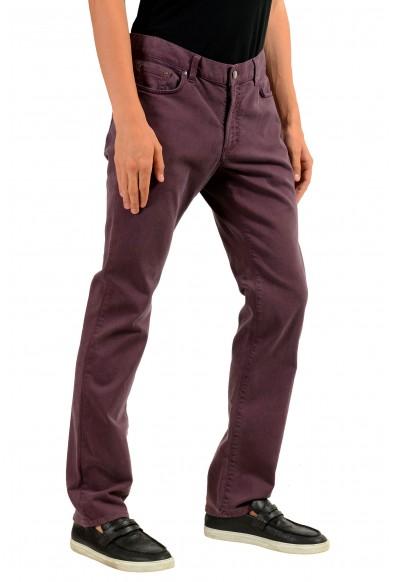 "Versace Collection ""Trend"" Men's Purple Straight Leg Classic Jeans: Picture 2"