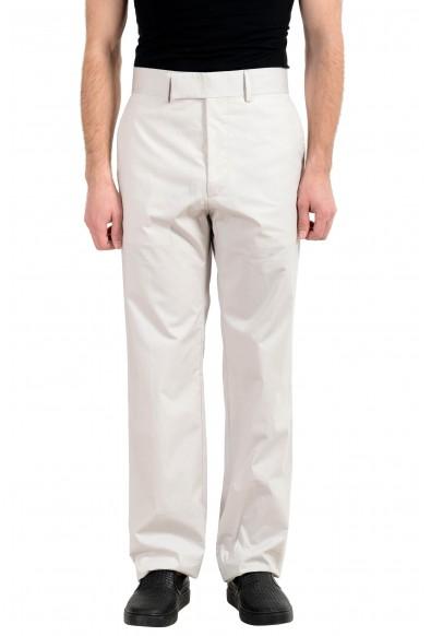 "Hugo Boss ""North/Pantry_FS"" Men's Off White Slim Casual Pants"