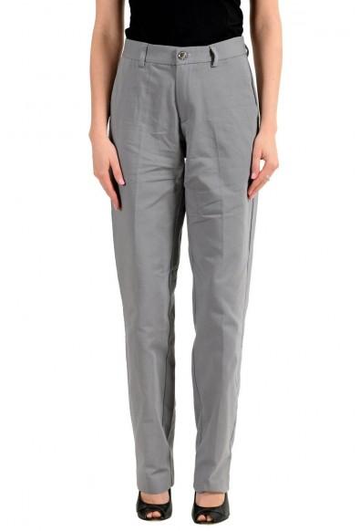 Versace Jeans Women's Gray Casual Pants