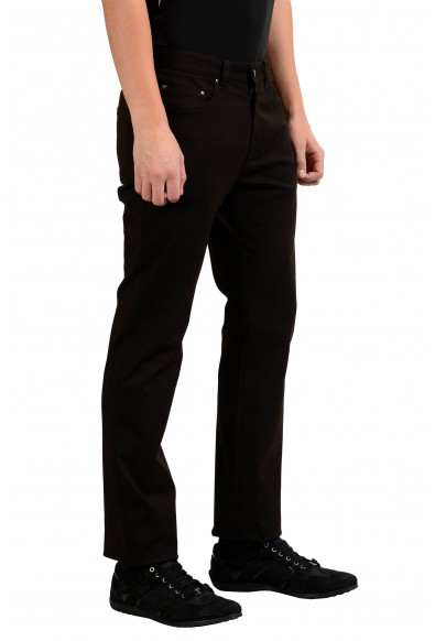 Versace Collection Brown Men's Classic Straight Leg Jeans: Picture 2