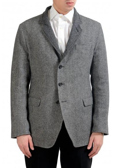 Dolce & Gabbana Men's 100% Wool Reversible Blazer Sport Coat