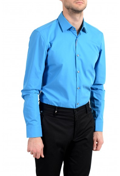 "Hugo Boss ""C-Jenno"" Men's Blue Slim Long Sleeve Dress Shirt: Picture 2"