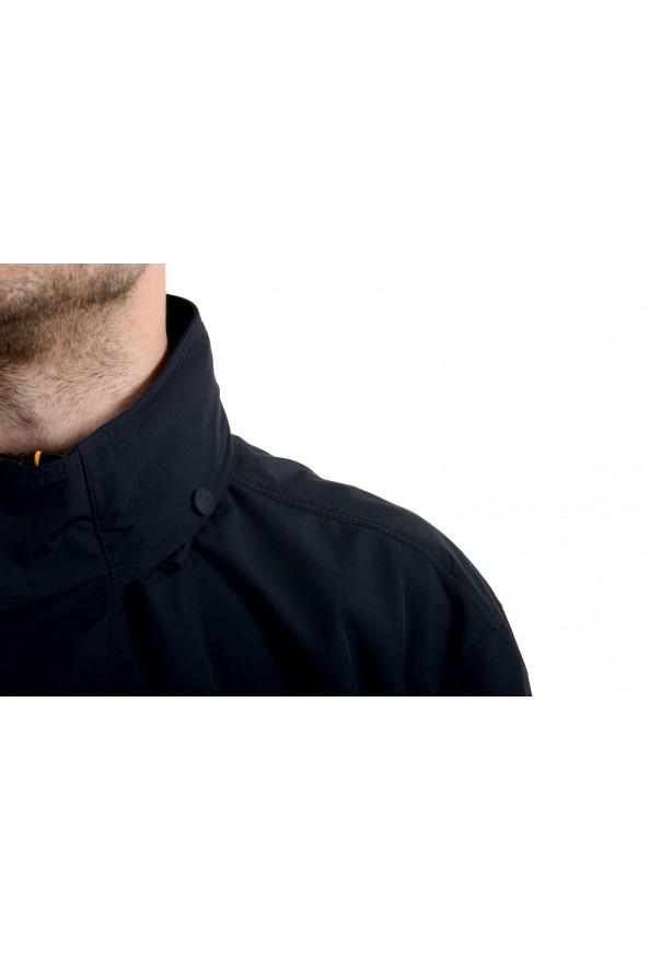"Hugo Boss ""Okroos"" Men's 1/2 Zip Multi-Color Hooded Windbreaker Jacket: Picture 3"