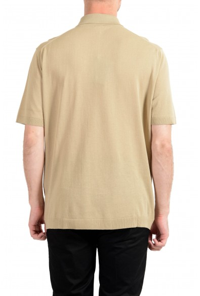 Malo Men's Beige Short Sleeve Casual Shirt: Picture 2