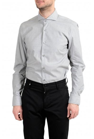 """Hugo Boss """"Jemerson"""" Men's Slim Gray Long Sleeve Dress Shirt : Picture 2"""