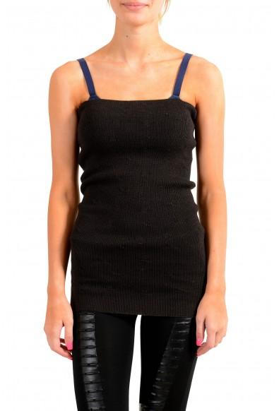 Maison Margiela Women's 100% Wool Tube Stretch Blouse Top