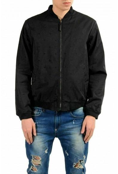 Versace Jeans Men's Black Full Zip Bomber Light Jacket