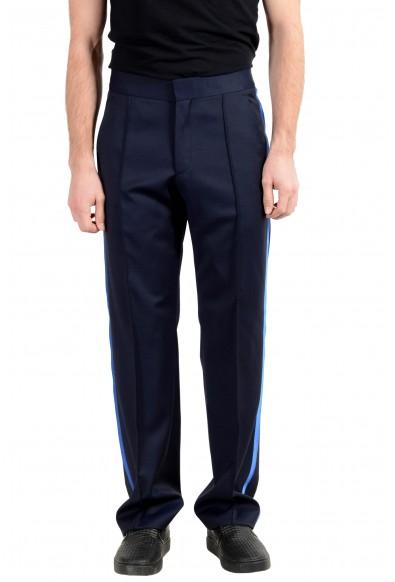"Hugo Boss ""Fedo182FS"" Men's 100% Wool Dark Blue Dress Pants"
