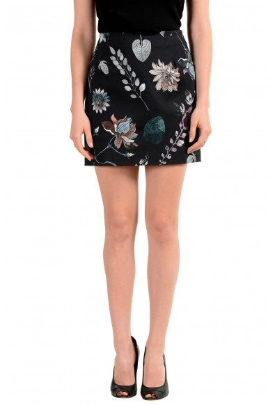 Versus by Versace Women's Floral Print Mini Skirt