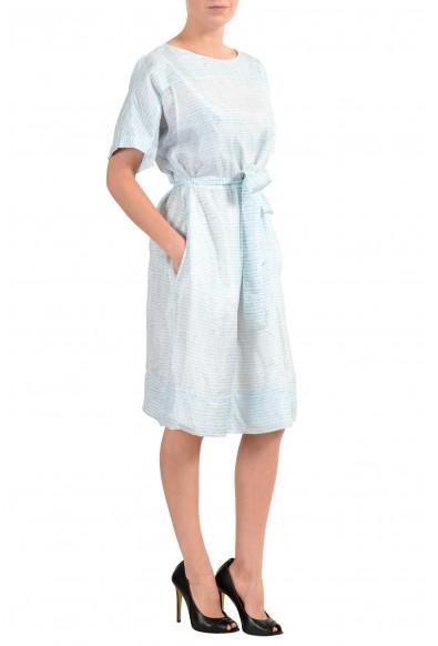 "Hugo Boss ""Demseey"" Women's 100% Silk Belted Sheath Dress : Picture 2"