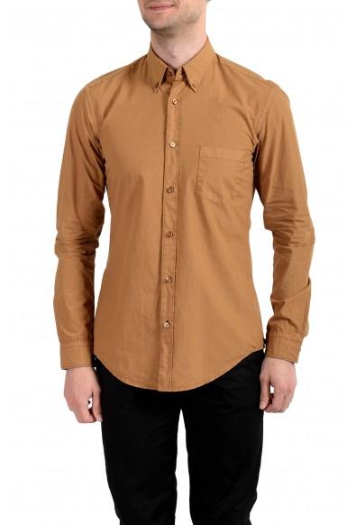 Hugo Boss Men's Rod_P Slim Fit Button Down Long Sleeves Casual Shirt