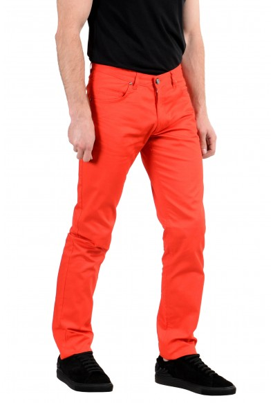 Versace Jeans Men's Stretch Red Skinny Jeans : Picture 2