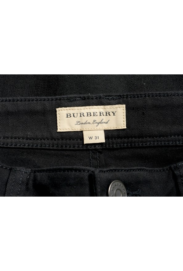 Burberry London Women's Black Low Rise Skinny Stretch Jeans: Picture 4