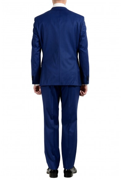"Hugo Boss ""Jets3/Lenon1"" Men's 100% Wool Blue Two Button Suit: Picture 2"