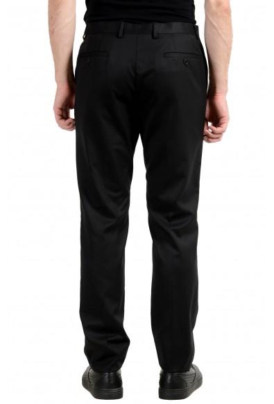 Versace Collection Men's 100% Wool Black Dress Pants: Picture 2