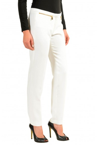 Versace Collection White Women's Casual Pants : Picture 2