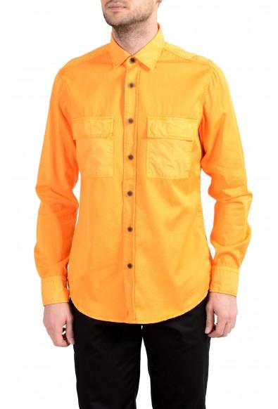 "Hugo Boss ""Rebus_1"" Men's Regular Fit Long Sleeve Casual Shirt"