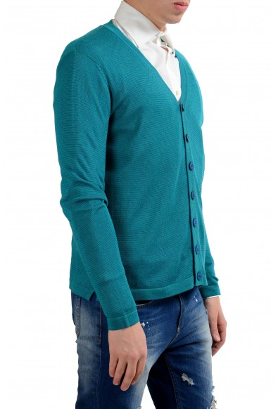 Malo Men's Light Silk Linen Cardigan Sweater: Picture 2