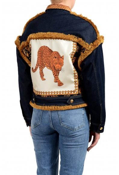 Versace Women's Multi-Color Barocco Jean Jacket: Picture 2