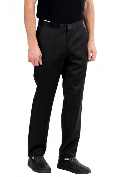 "Hugo Boss ""Reysen/Weever"" Men's Wool Mohair Black Dress Pants : Picture 2"