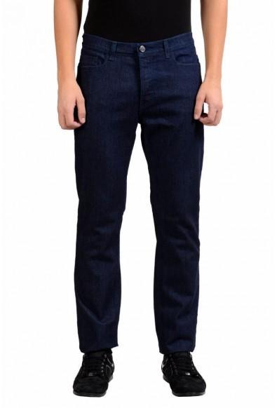 Versace Collection Men's Blue Stretch Classic Straight Leg Jeans US 32 IT 48