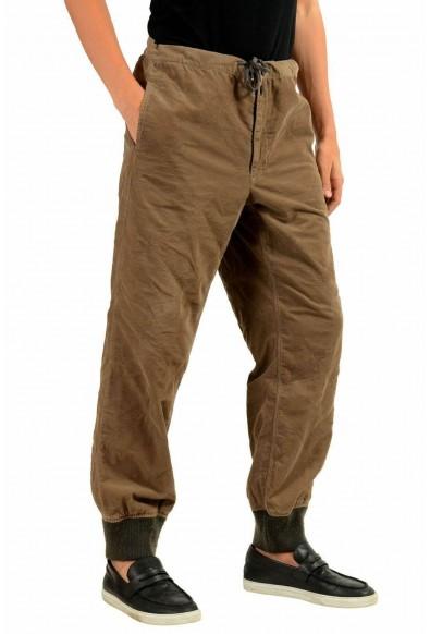 Moncler Men's Brown Corduroy Casual Pants: Picture 2