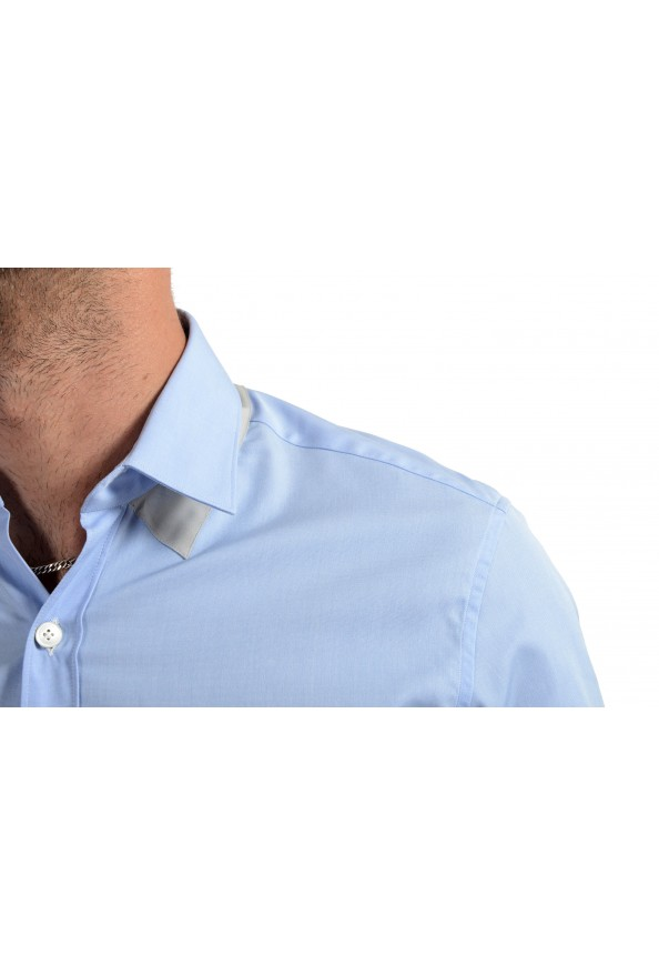 Lanvin Men's Light Blue Long Sleeve Dress Shirt: Picture 5