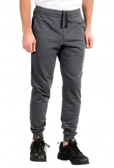 Emporio Armani EA7 Men's Gray Track Sweat Suit: Picture 2