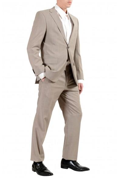 "Hugo Boss ""C-Pasini/C-Movie"" Men's 100% Wool Beige Two Button Suit: Picture 2"