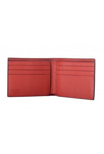 Salvatore Ferragamo Men's Black 100% Leather Bifold Wallet: Picture 2