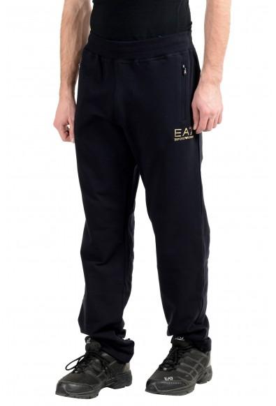 """Emporio Armani EA7 """"Train Evolution"""" Men's Dark Blue Stretch Track Sweat Pants: Picture 2"""