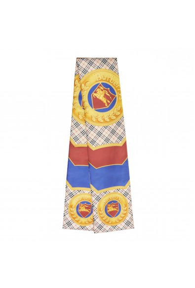 Burberry London Unisex Multi-Color Silk Quilted Scarf