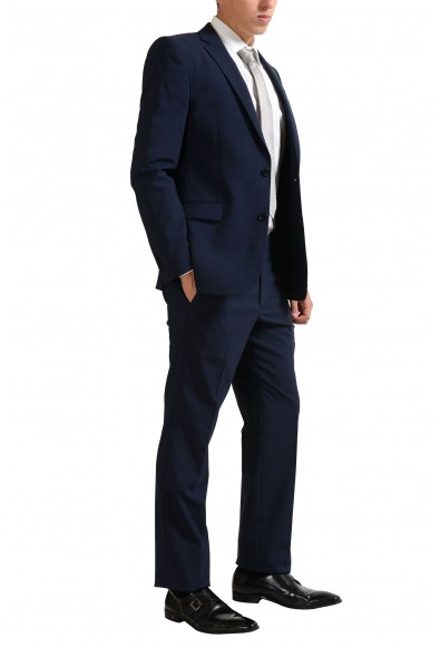 Versace Collection Wool Navy Two Button Men's Suit: Picture 2