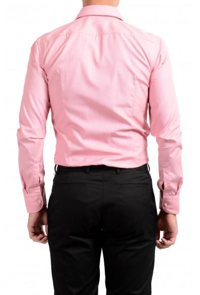 "Hugo Boss Men's ""Jery"" Slim Fit Pink Long Sleeve Dress Shirt: Picture 2"