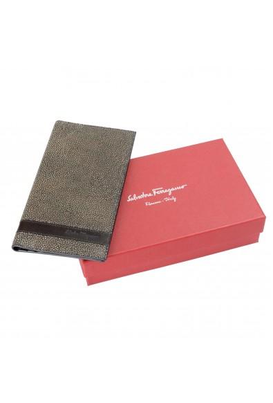 Salvatore Ferragamo Men's 100% Pebbled Leather Bifold Wallet: Picture 2
