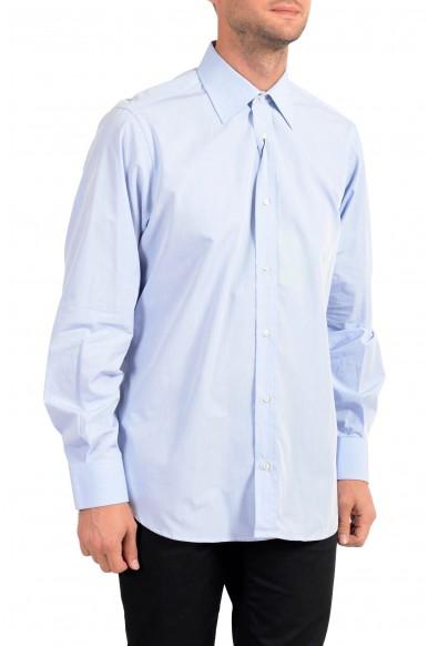 Dolce&Gabbana Men's Blue Long Sleeve Dress Shirt