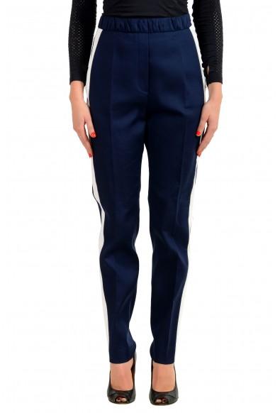 "Hugo Boss Women's ""Herani"" Dark Blue Casual Pants"