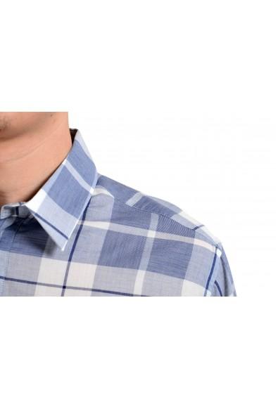 Dolce & Gabbana Men's 1/2 Button Plaid Dress Shirt: Picture 2