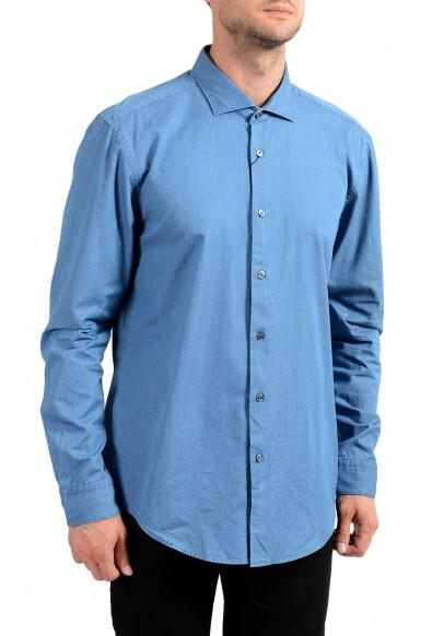 Hugo Boss Men's Ridley_F Slim Fit Long Sleeve Casual Shirt