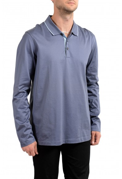 """Hugo Boss Men's """"Paschal_02"""" Slim Fit Long Sleeve Polo Shirt: Picture 2"""