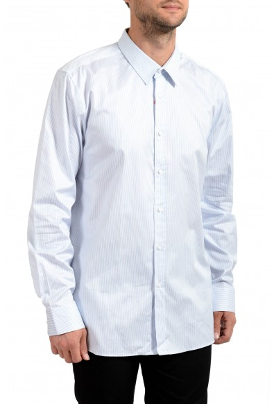 "Hugo Boss Men's ""Elisha01"" Extra Slim Fit Long Sleeve Dress Shirt"
