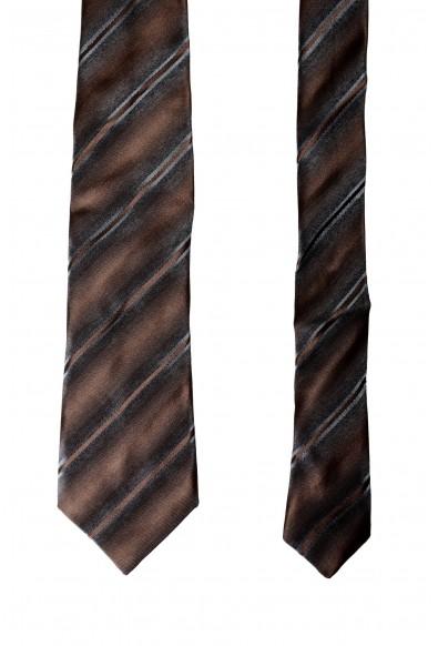 Gianfranco Ferre Men's Multi-Color 100% Silk Striped Neck Tie: Picture 2