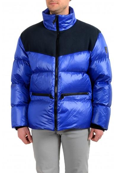 "Hugo Boss Men's ""Desio"" Blue Down Parka Jacket"