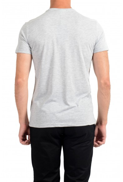 Roberto Cavalli Men's Gray Graphic Print Crewneck T-Shirt: Picture 2